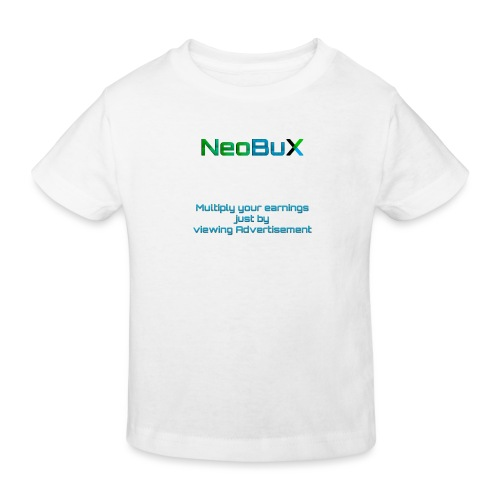 NeoBuX Blue - Kids' Organic T-Shirt