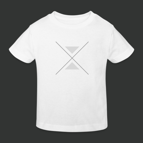 hipster triangles - Kids' Organic T-Shirt