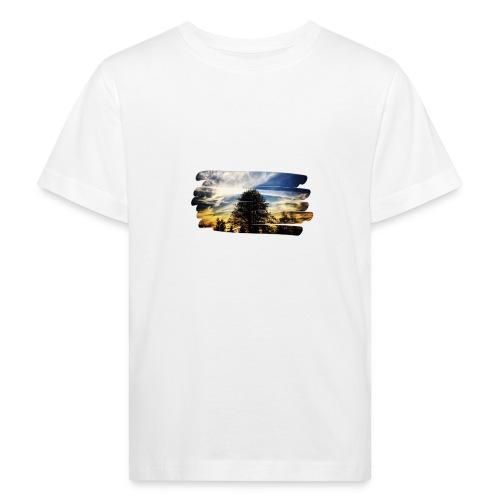 tree and sunset - Ekologiczna koszulka dziecięca