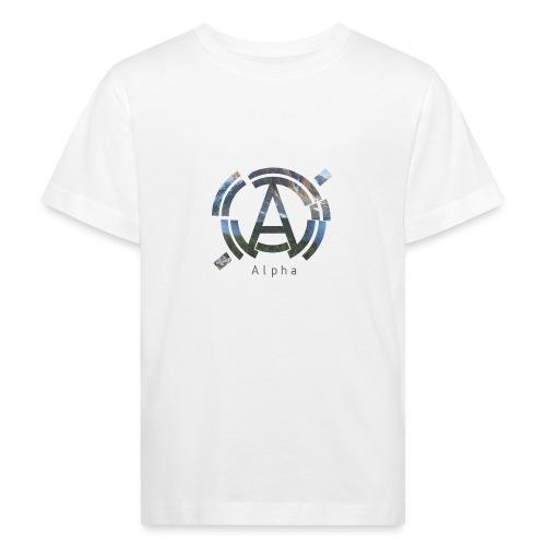 AlphaOfficial Logo T-Shirt - Kids' Organic T-Shirt