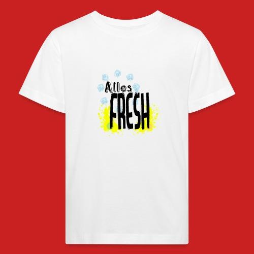 Alles Fresh / Frisch Sommer Eis - Kinder Bio-T-Shirt