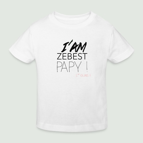 iamezbestpapy - T-shirt bio Enfant