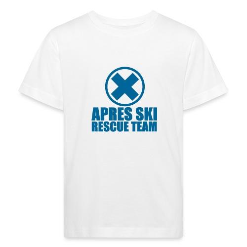 apres-ski rescue team - Kids' Organic T-Shirt