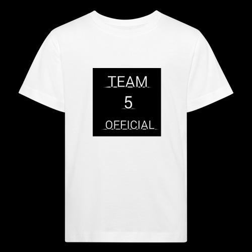 Team5 official 1st merchendise - Kids' Organic T-Shirt