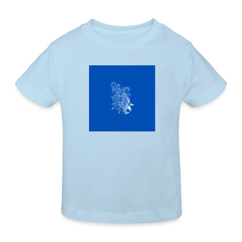 Windy Wings Blue - Kids' Organic T-Shirt