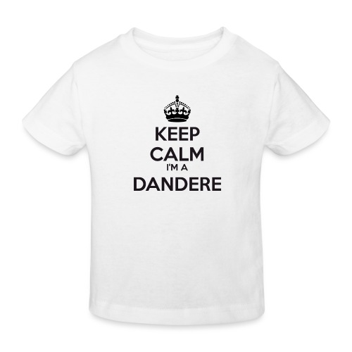 Dandere keep calm - Kids' Organic T-Shirt