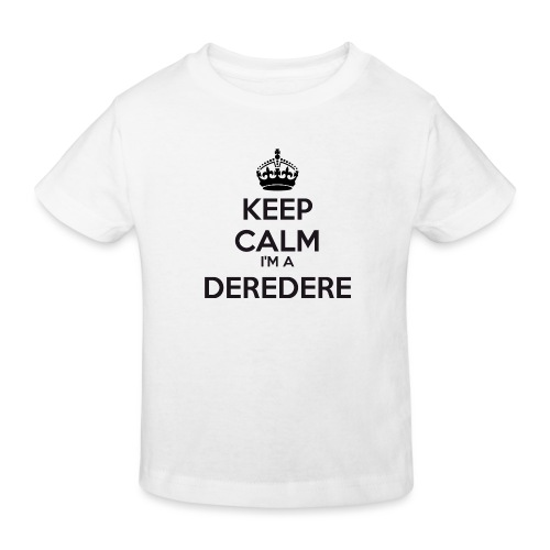 Deredere keep calm - Kids' Organic T-Shirt