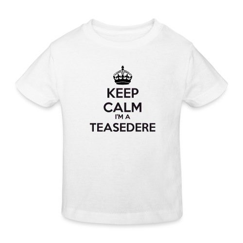 Teasedere keep calm - Kids' Organic T-Shirt