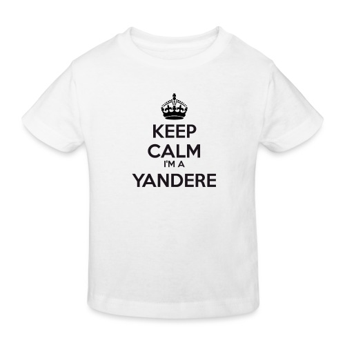 Yandere keep calm - Kids' Organic T-Shirt