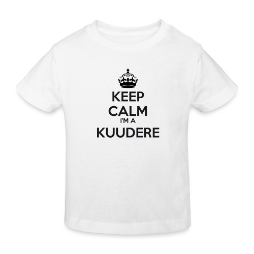 Kuudere keep calm - Kids' Organic T-Shirt