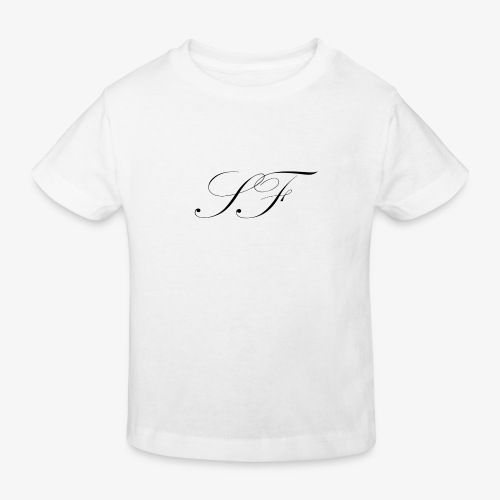 SF HANDWRITTEN LOGO BLACK - Kids' Organic T-Shirt