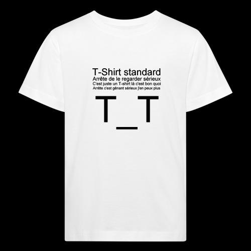 T-shirt dépressif - T-shirt bio Enfant