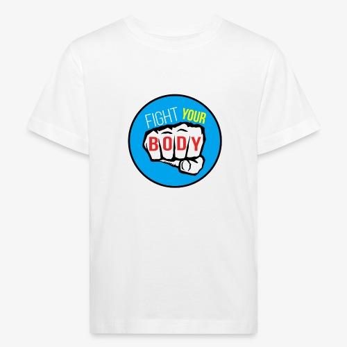 logo fyb bleu ciel - T-shirt bio Enfant