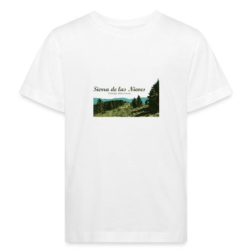 Sierra de las Nieves Parque Nacional - Camiseta ecológica niño