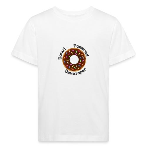 Donut Powered Developer - Camiseta ecológica niño