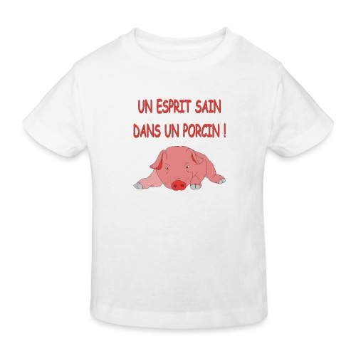 Porcitive Attitude - T-shirt bio Enfant