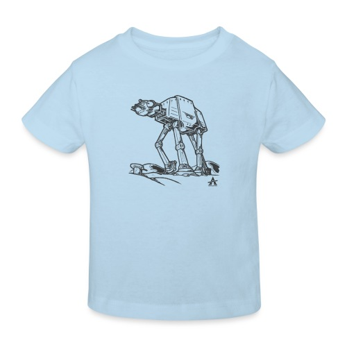 AT AT Walker ligne d'esquisse - T-shirt bio Enfant