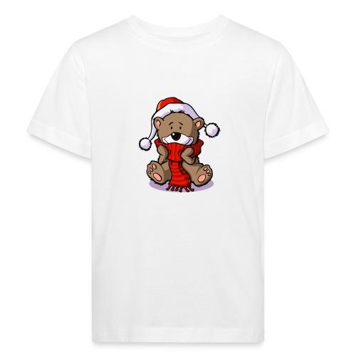 vl080b_winterbaer_4c - Kinder Bio-T-Shirt
