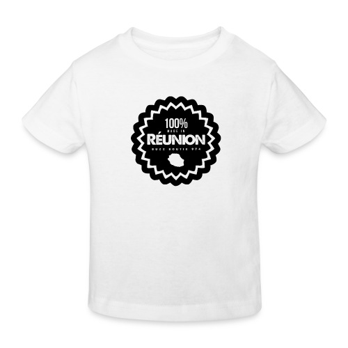 Collection 100% MADE IN REUNION - T-shirt bio Enfant