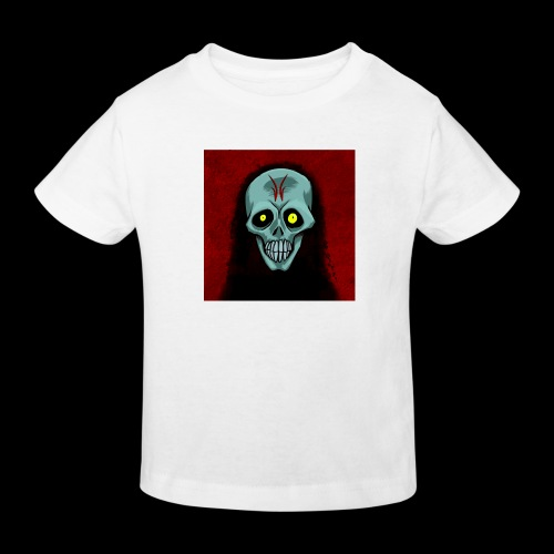 Ghost skull - Kids' Organic T-Shirt