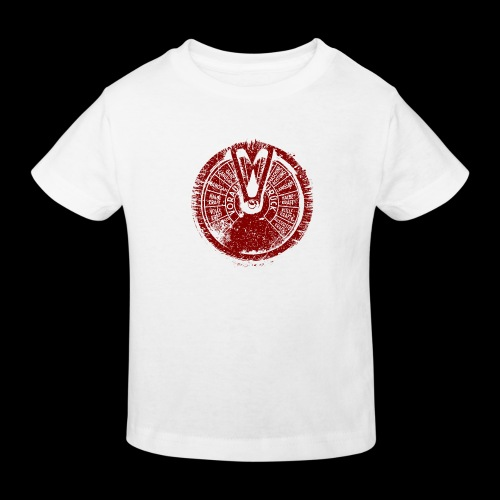 Maschinentelegraph (red oldstyle) - Kids' Organic T-Shirt