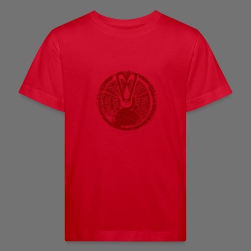 Maschinentelegraph (czerwona oldstyle) - Ekologiczna koszulka dziecięca