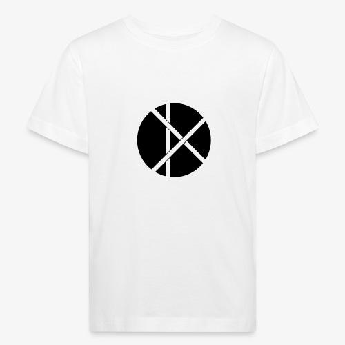 Don Logo - musta - Lasten luonnonmukainen t-paita