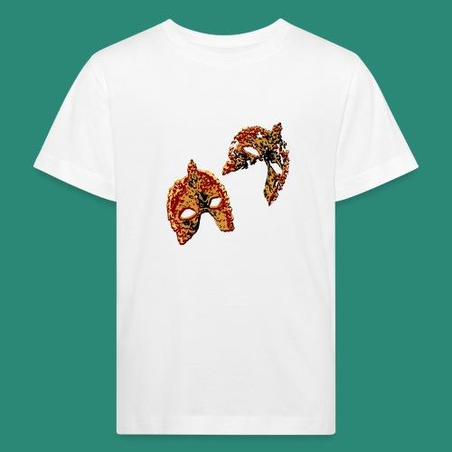 maskerade rot - Kinder Bio-T-Shirt
