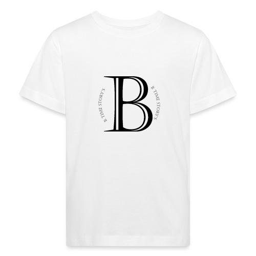 logo wit - Kinderen Bio-T-shirt