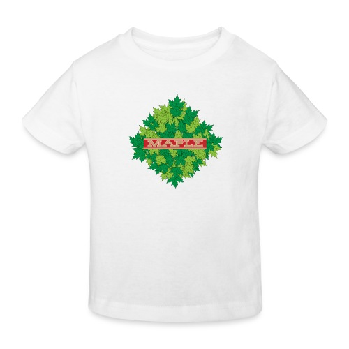 maple - Kinder Bio-T-Shirt