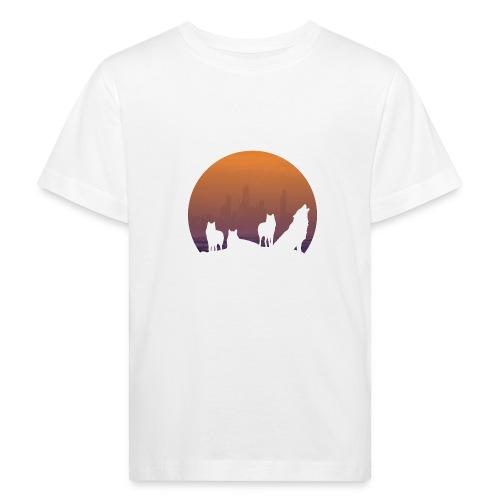 Wolfsrudel - Kinder Bio-T-Shirt