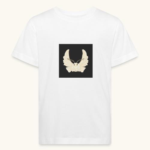 Papillon de nuit fond noir - T-shirt bio Enfant