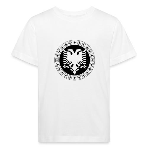 Albanien Schweiz Shirt - Kinder Bio-T-Shirt