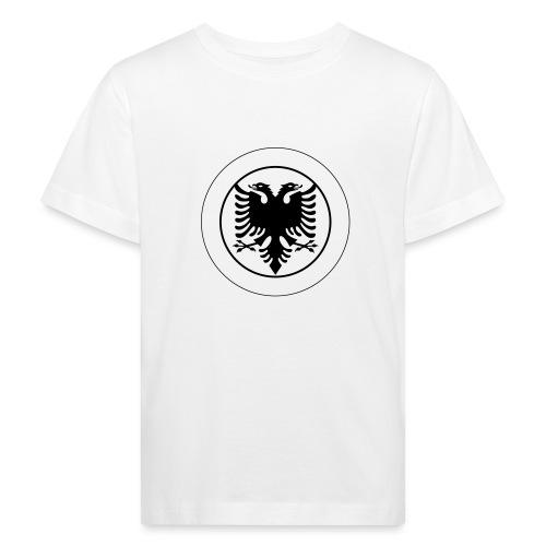 Schweiz Albanien - Kinder Bio-T-Shirt