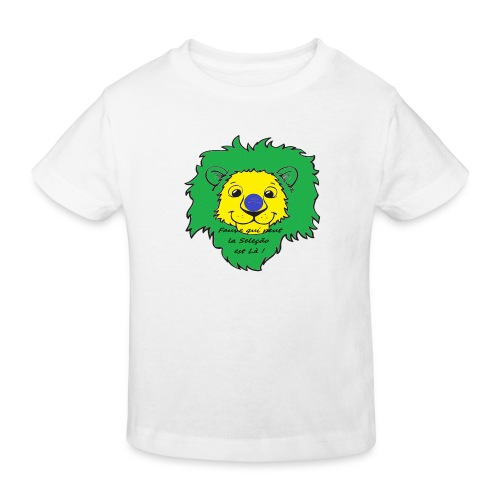 Lion supporter Brésil - T-shirt bio Enfant