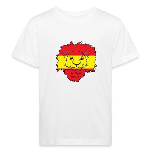 Lion supporter Espagne - T-shirt bio Enfant