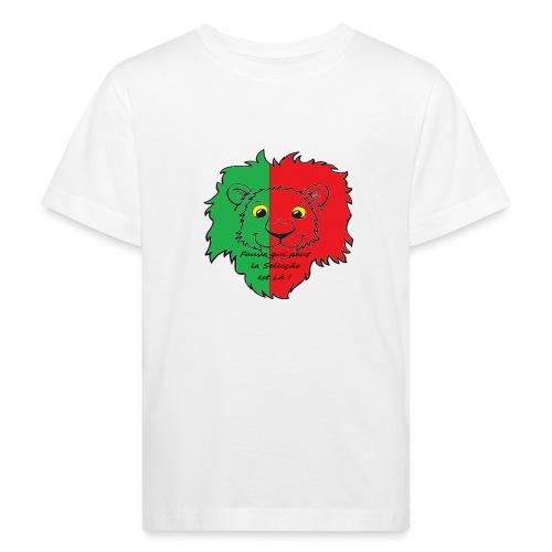 Lion supporter Portugal - T-shirt bio Enfant