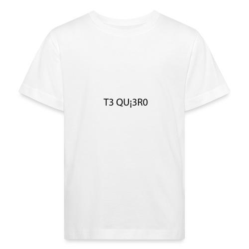 Te Quiero - T-shirt bio Enfant