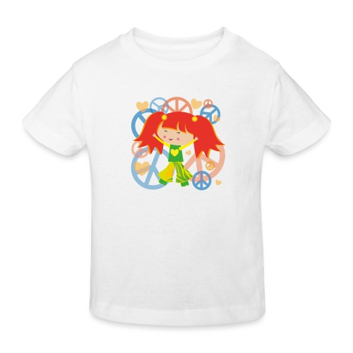 Happy Meitlis - Be Happy - Kinder Bio-T-Shirt
