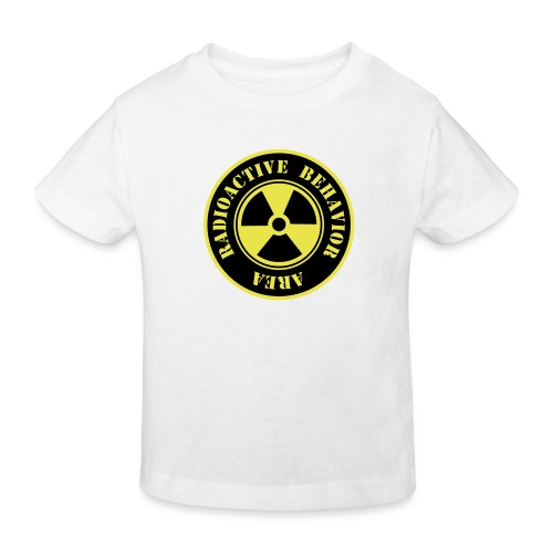 Radioactive Behavior - Camiseta ecológica niño
