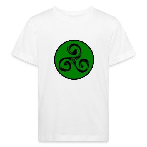 Triskel and Spiral - Camiseta ecológica niño