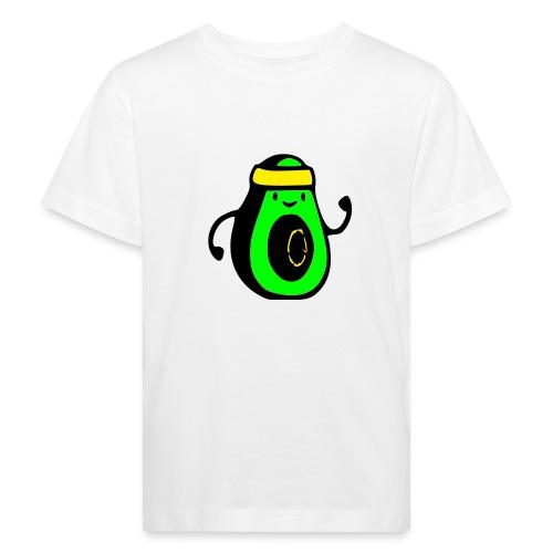 aguacate ninja - Camiseta ecológica niño