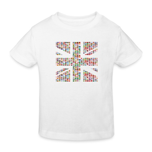 The Union Hack - Kids' Organic T-Shirt