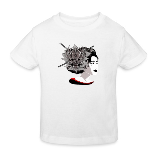 Warrior Flower - Kinderen Bio-T-shirt