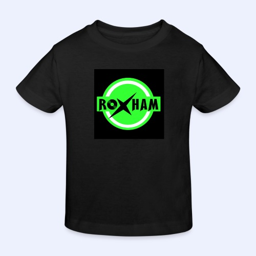 RoxHam-Button-2019 - Kinder Bio-T-Shirt