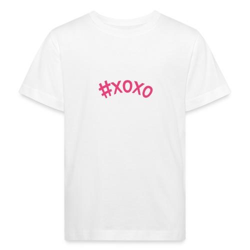 xoxo - Lasten luonnonmukainen t-paita