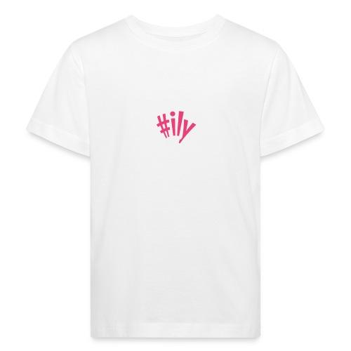 ily - Lasten luonnonmukainen t-paita