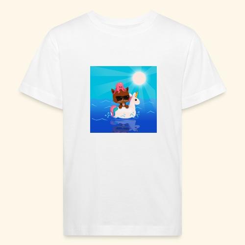 Summer Vibes - Kids' Organic T-Shirt