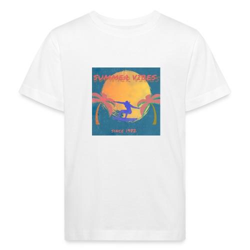 Summer vibes - Camiseta ecológica niño