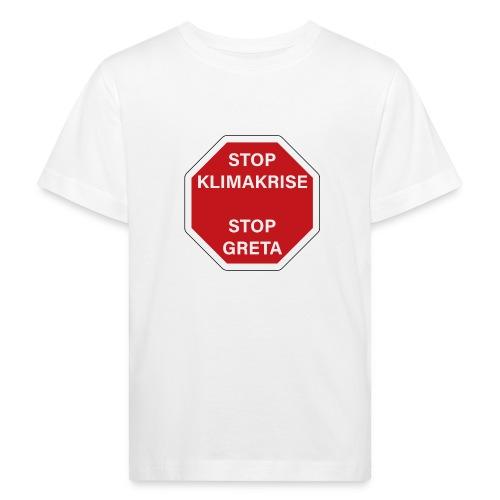 STOP GReTA - Kinder Bio-T-Shirt